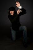 Retro- Art-Fotograf Lizenzfreie Stockfotos