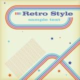 Retro- Art Langspielplatte Stock Abbildung