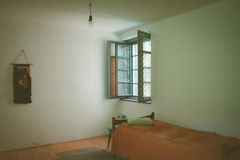 Retro ascetic room Stock Photography
