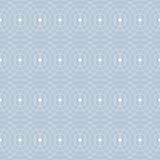 Retro- Atomfünfziger jahre Mitte- des Jahrhundertsweinlese-nahtloser Hintergrund kreist Blau ein Stockbilder