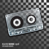 Retro audio cassete Royalty Free Stock Photos