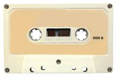 Retro audio nastro a cassetta magnetico, percorso di residuo della potatura meccanica Immagini Stock