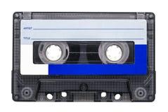 Retro- Audiokassette Stockbild