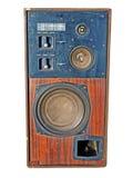 Retro audiosysteem Royalty-vrije Stock Fotografie