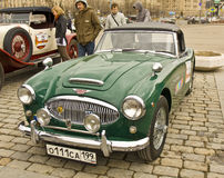 Retro Austin-Healey Royalty Free Stock Image