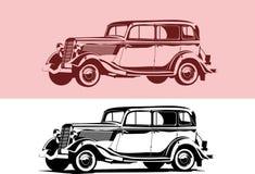 Retro- Auto Lizenzfreies Stockfoto