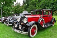 Retro auto. Stock Foto