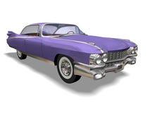 Retro auto Imagen de archivo libre de regalías