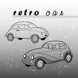 Retro- Auto Stockfoto