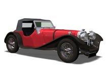 Retro auto Royalty-vrije Stock Foto