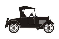 Retro auto Royalty-vrije Stock Afbeelding