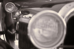 Retro auto stock afbeeldingen
