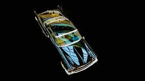 Retro- Auto Stockbild