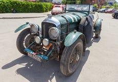 Retro auto Bentley 4 het jaar van ½ Tourer 1929 Stock Foto's
