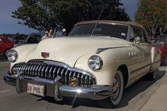 Retro auto Buick Acht Royalty-vrije Stock Afbeeldingen