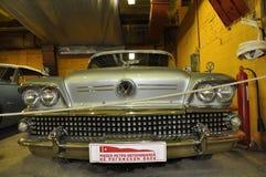 Retro auto cadillac Royalty-vrije Stock Afbeelding