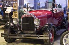 Retro auto Ford een Open tweepersoonsauto 1929 versie Royalty-vrije Stock Afbeeldingen