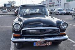 Retro- Auto GAZ-21 Volga Stockfoto