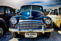 Retro- Auto, Morris Stockbilder