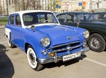 Retro- Auto Moskvich Stockfoto