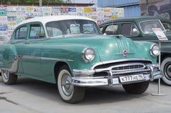 Retro auto Pontiac Chieftan Stock Fotografie