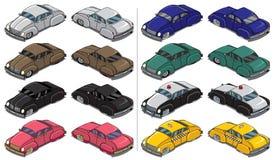 Retro Auto's Royalty-vrije Stock Afbeeldingen