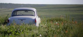 Retro auto's Stock Afbeelding