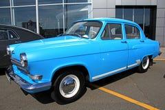 Retro auto show. GAZ Volga (Soviet-made automobile Stock Photos