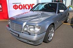 Retro auto show. Mercedes-Benz Royalty Free Stock Images