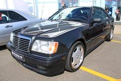 Retro auto show. Mercedes-Benz  Royalty Free Stock Photo