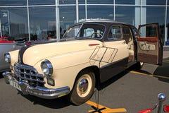 Retro auto show. ZIM (Soviet-made automobile) Royalty Free Stock Image