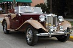 Retro auto van Mg Royalty-vrije Stock Fotografie