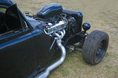 Retro auto van sporten Stock Foto