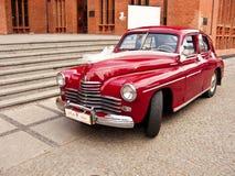 Retro auto van Warschau Royalty-vrije Stock Foto