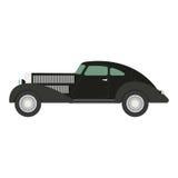 Retro- Auto Vektorillustration Stockbild