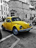 Retro auto vinatge stock afbeelding