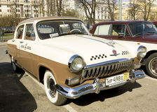 Retro auto Volga Royalty-vrije Stock Foto