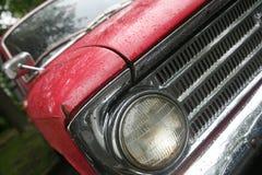 Retro auto, wijnoogst Royalty-vrije Stock Afbeelding