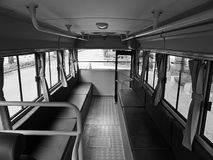 Retro autobus inside Obrazy Stock