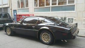 Retro- Automobil Stockfoto