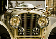 Retro- Automobil Lizenzfreies Stockfoto