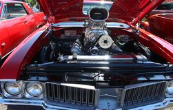 Retro- Automobil Lizenzfreie Stockfotos
