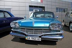Retro- Automobilausstellung Stockfotografie