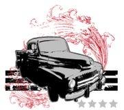 Retro automobile Immagini Stock Libere da Diritti