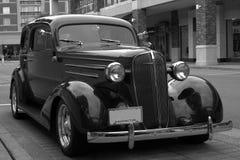 Retro automobile BW Fotografia Stock