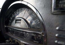 Retro Automobile Dashboard Royalty Free Stock Images
