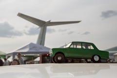Retro automobile di trasporto d'annata Fotografie Stock