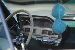 Retro automobile fresca immagine stock libera da diritti