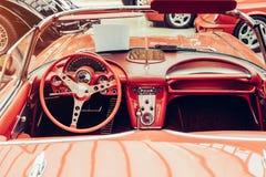Retro automobile Royalty Free Stock Photo