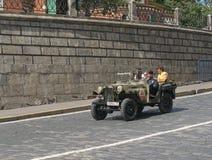 Retro automobile militare GAZ-64 immagini stock